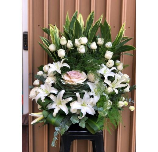 西式檯花 W012